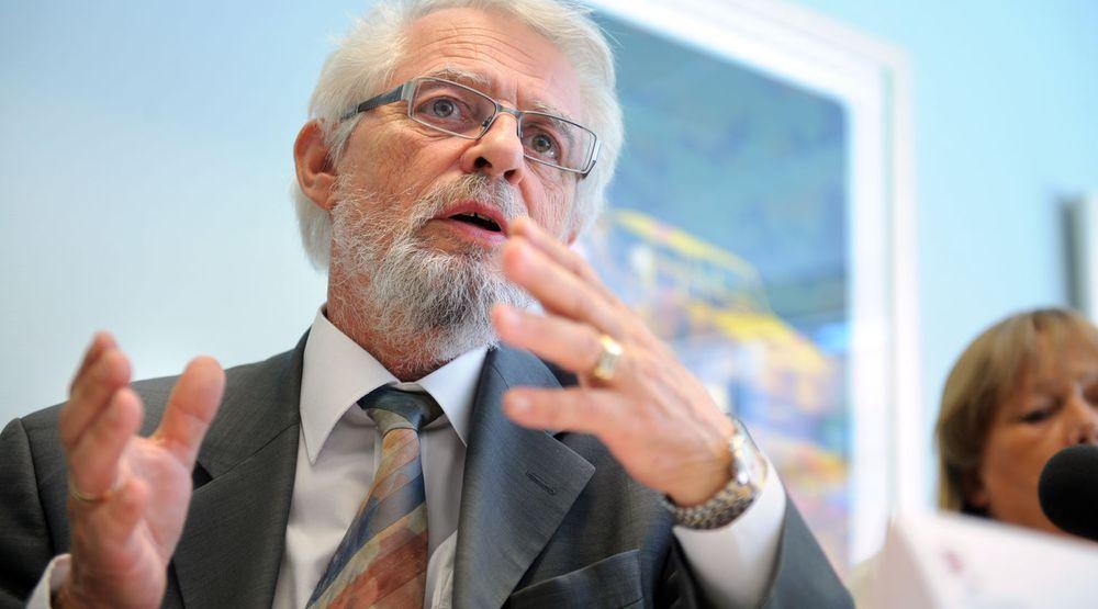 Riksrevisor Jørgen Kosmo er bekymret for sviktende IKT-sikkerhet i politiet.