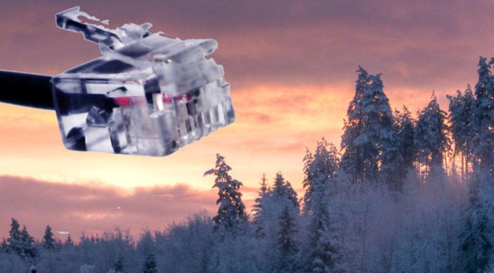 Setter man hastighetskravene lavt nok, kan man si at alle husstander i Norge snart har tilgang på bredbånd.