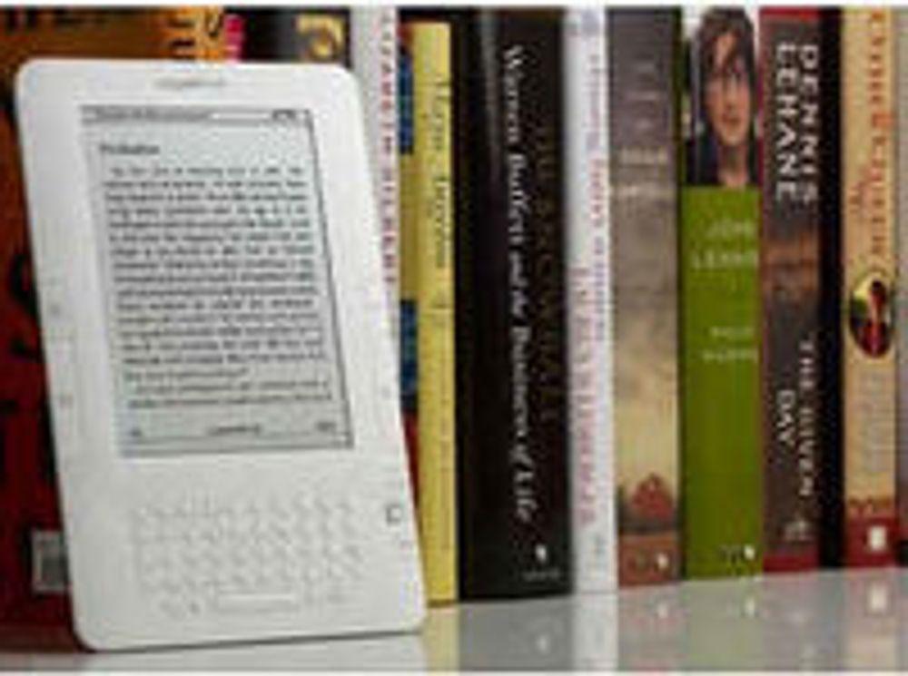 E-bøker drar fra papir