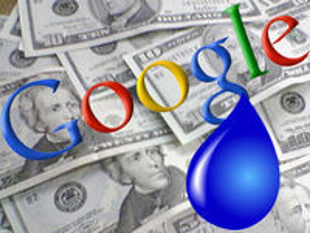 Googles vekst skuffer igjen