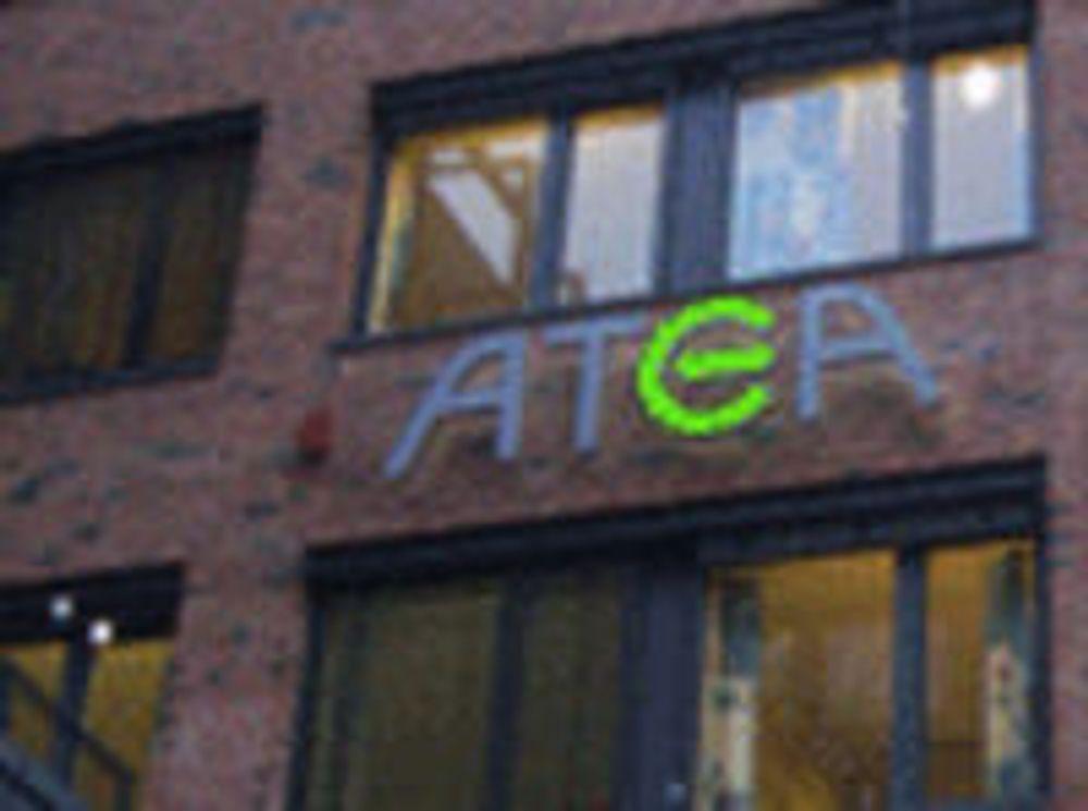 Pilene peker oppover for Atea
