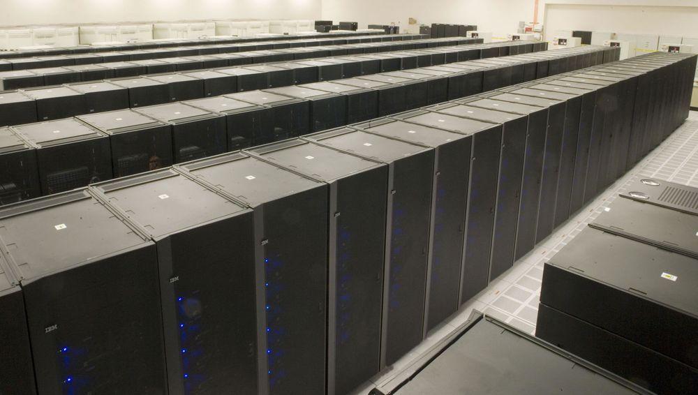 IBM Roadrunner på et tidlig stadium