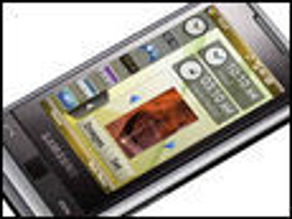 Samsung med utfordrer til HTC Touch