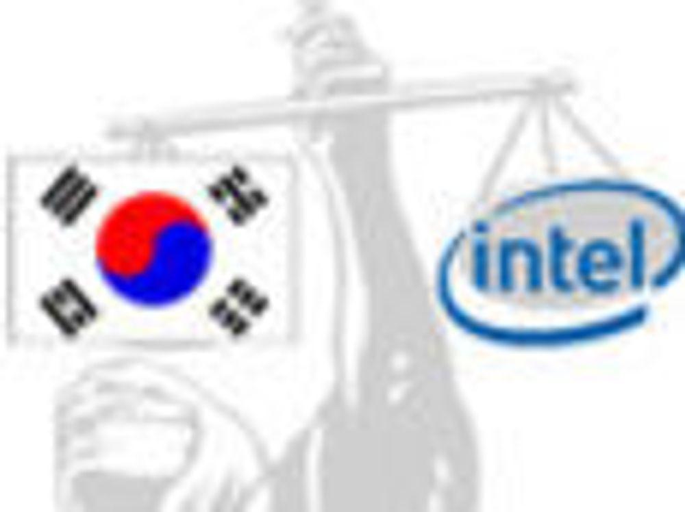 Intel må betale millionbot i Sør-Korea