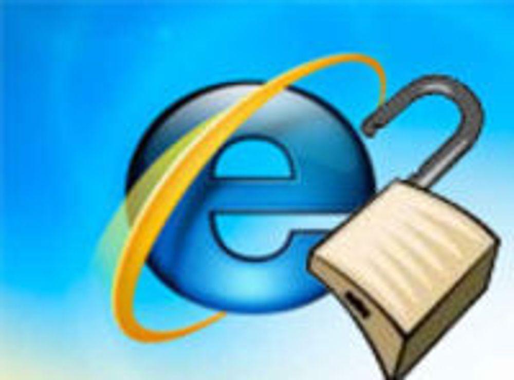 IE-feilfiks ble utsatt i flere måneder