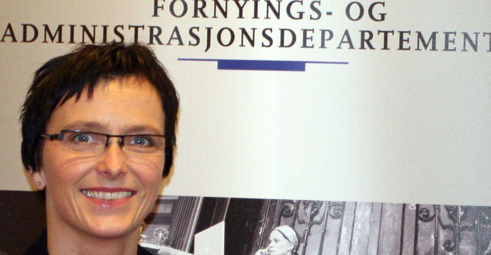 Tier om dataskandale: daværende fornyings- og IT-minister Heidi Grande Røys.