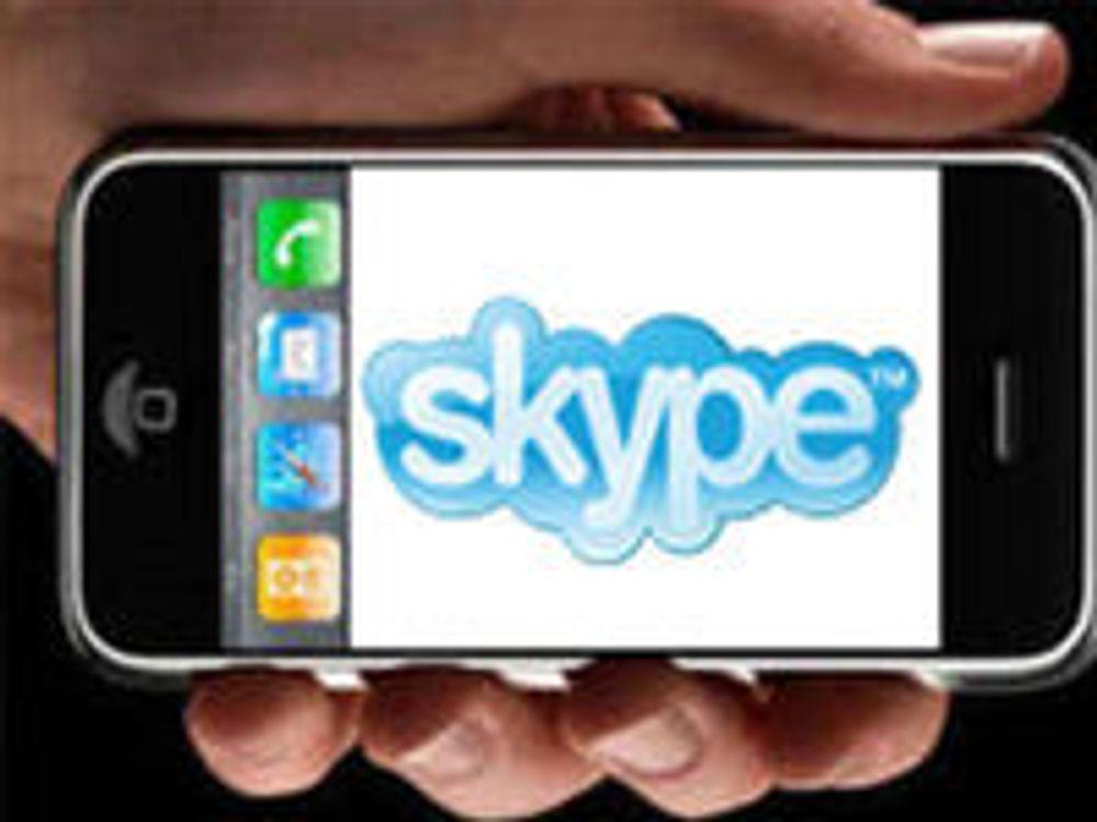 Skype til iPhone denne uken