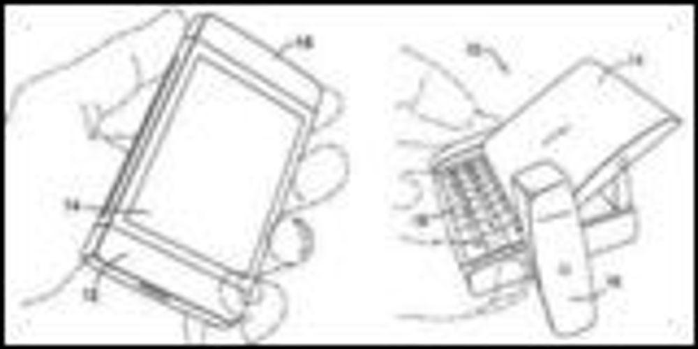 Nokia-patent på vippbar mobilskjerm