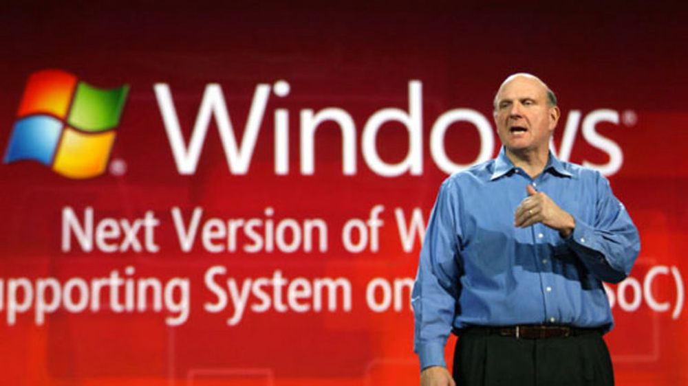 Ute: Steve Ballmer åpner CES for siste gang den 9. januar 2012. Her fra åpningstalen hans for snart ett år siden.