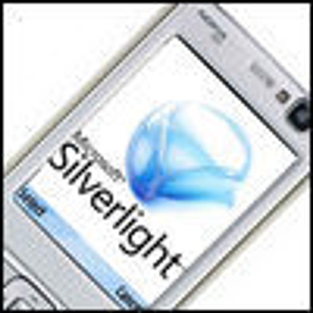 Nokia-mobiler skal få Silverlight-støtte