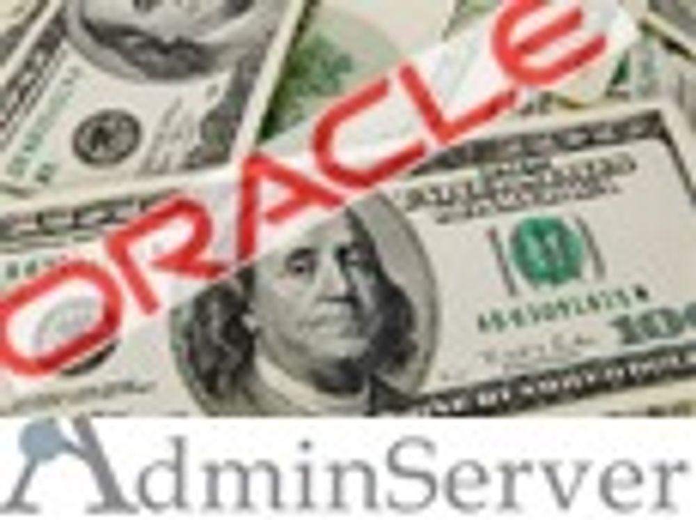 Oracle kjøper forsikringsprogramvare