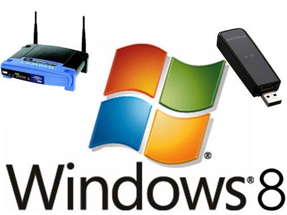 Enklere å bruke trådløst nett i Windows 8