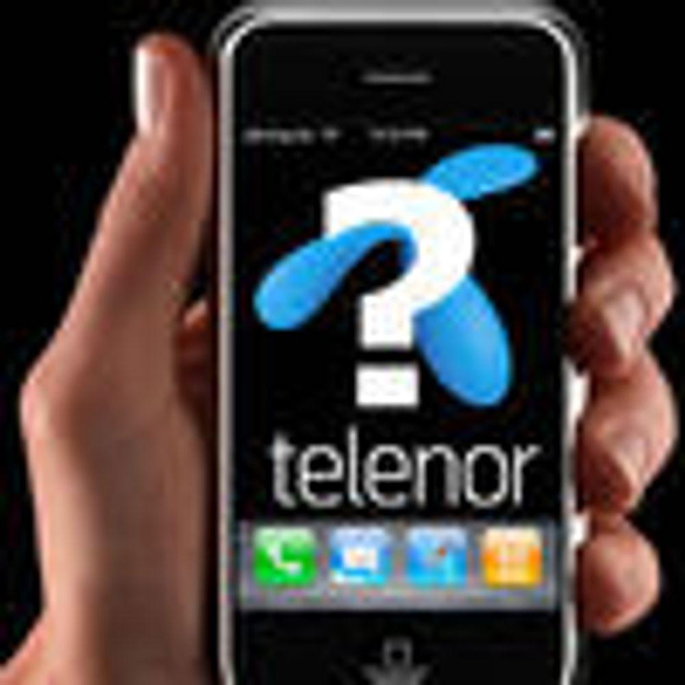 Telenor utsetter forhandlinger om iPhone