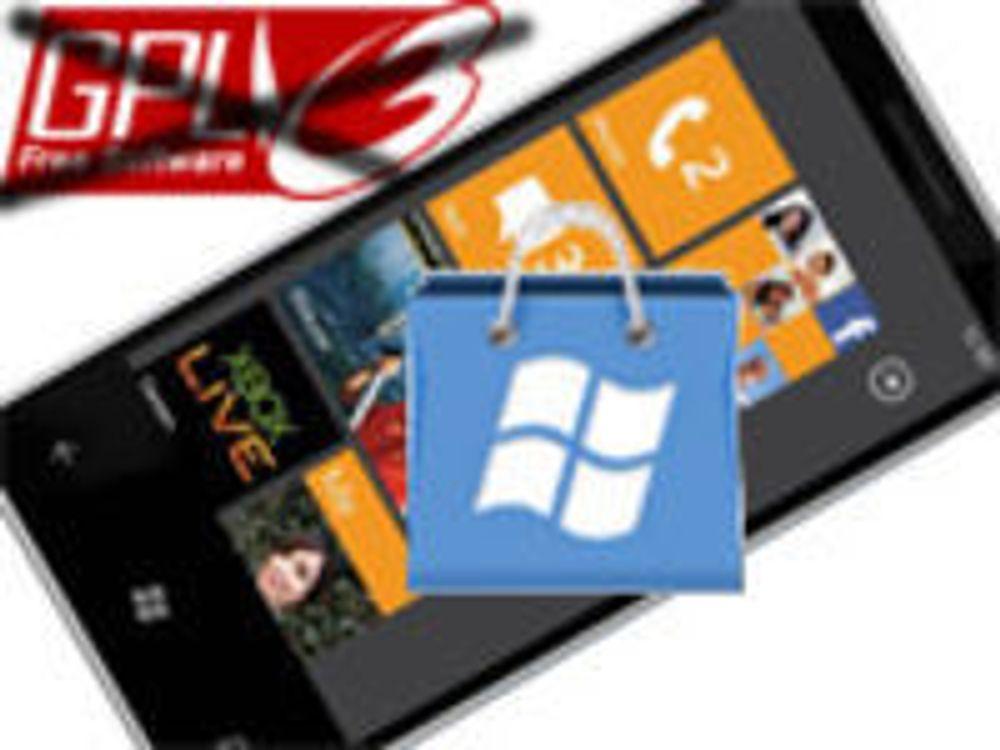 Stenger WinPhone for mye fri programvare