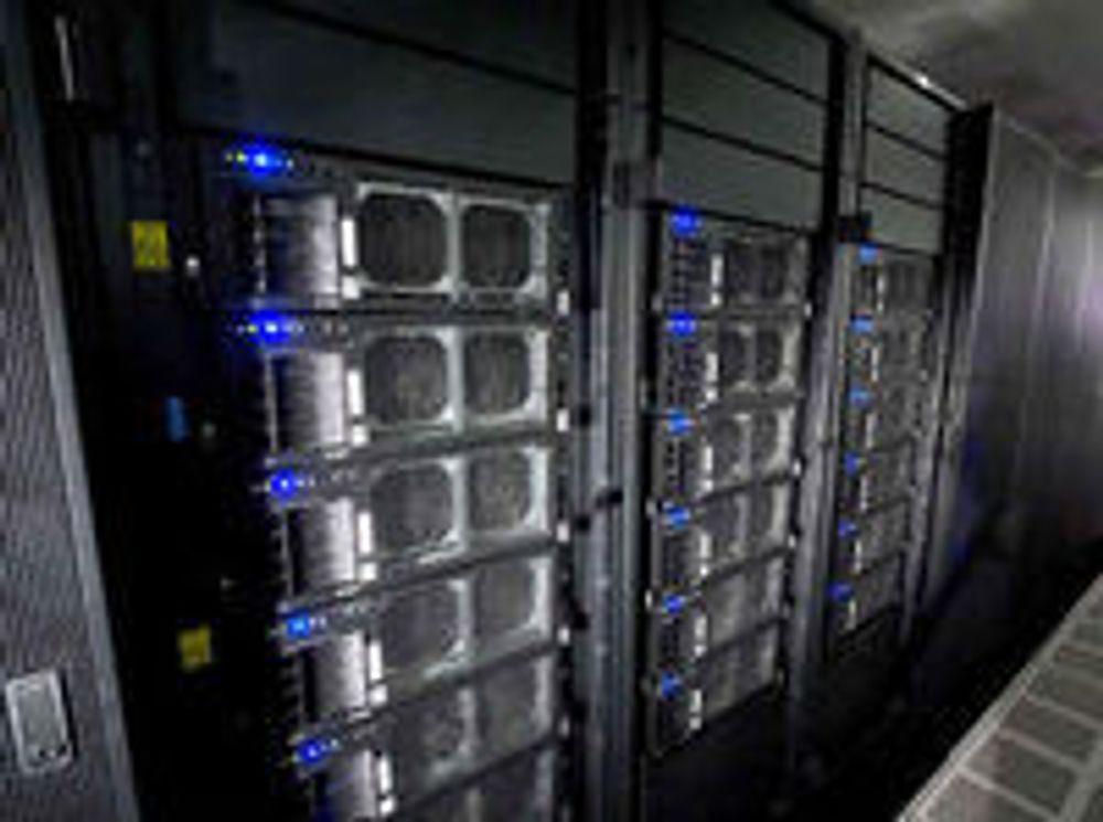 Kina nærmer seg superdata-toppen