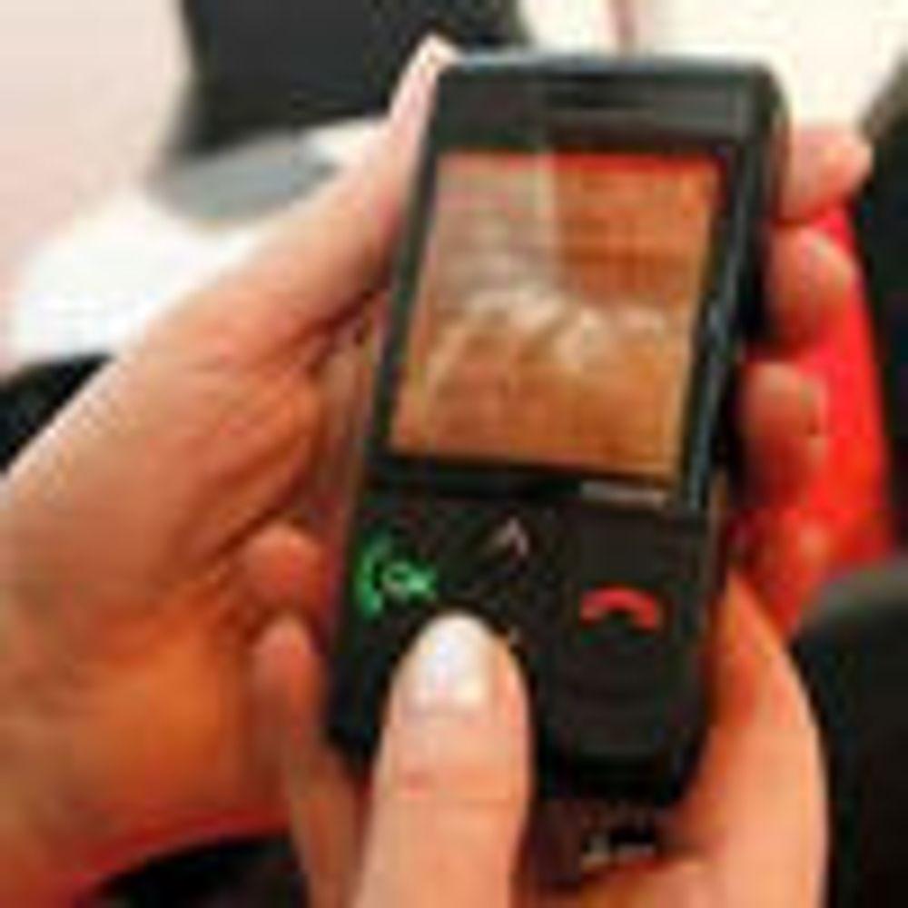 Norges første mobiltelefon for seniorer
