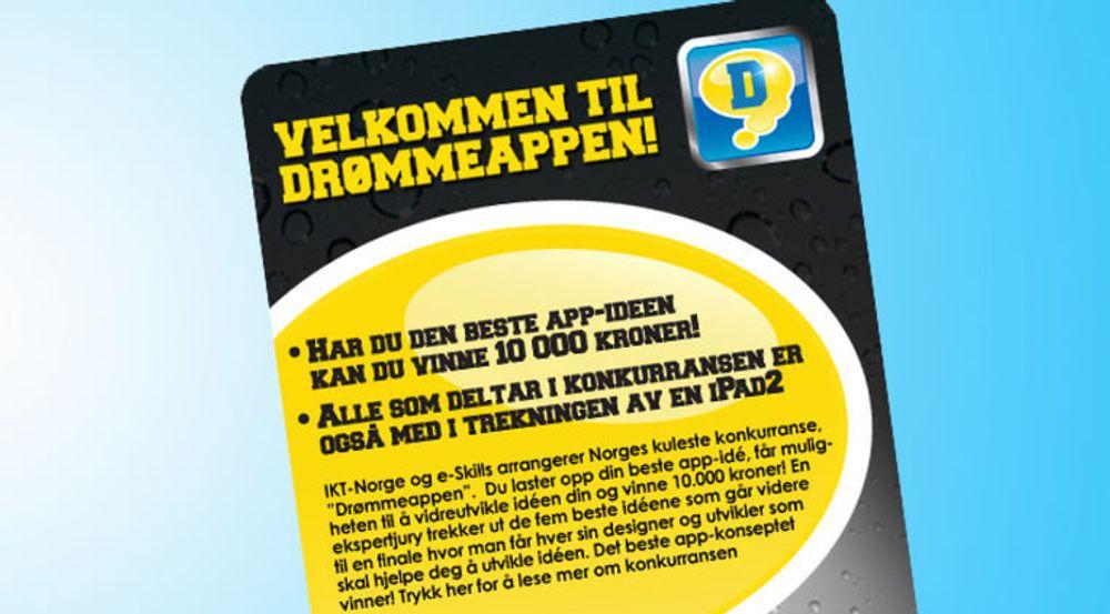 IKT-Norge har lagt ut denne plakaten om konkurransen på Facebook.
