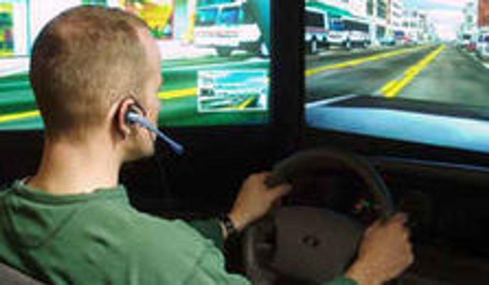 Mobilpratere er sinker i biltrafikken