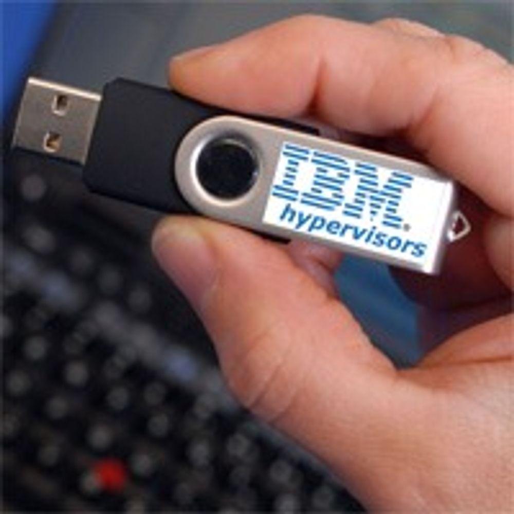 Virtualiserer servere med USB-pinner