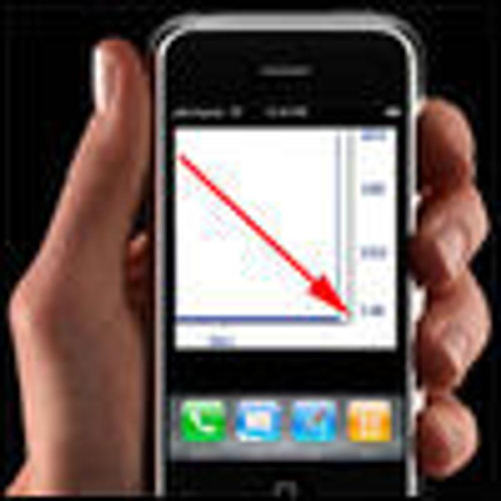 Uklart hvor mange iPhone-er har tatt veien