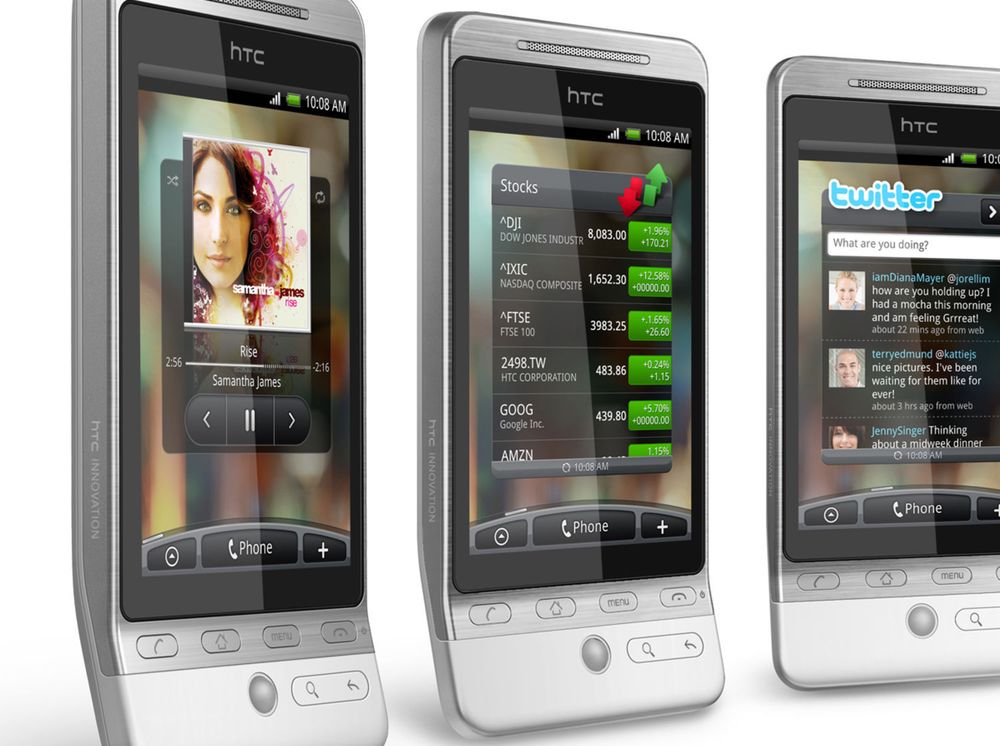 Endelig Android 2.1 for HTC Hero