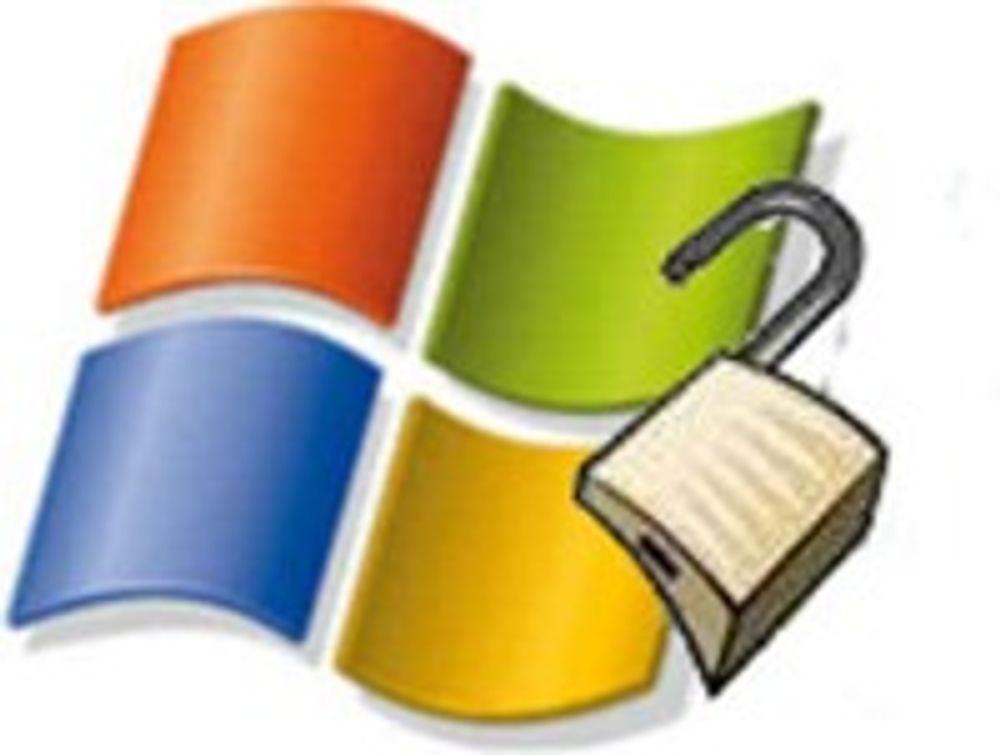 Windows XP-sårbarhet er under angrep