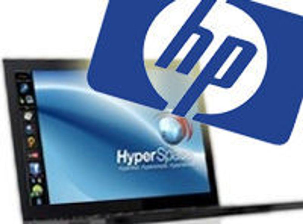HP kjøper lynraskt Linux-OS