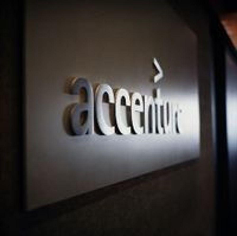 Tosifret vekst i Accenture