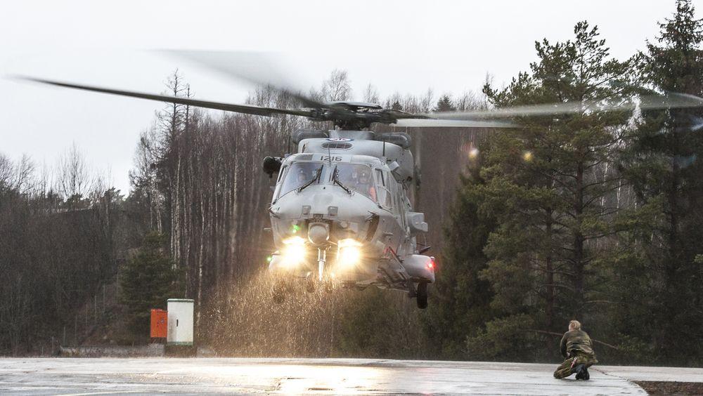 Det sjette og siste IOC-helikopteret ble mottatt 4. februar.