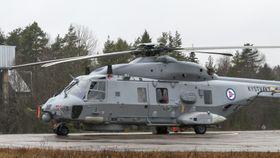 NH90 nummer seks på plass på Bardufoss. Nå er det et år til neste leveranse.