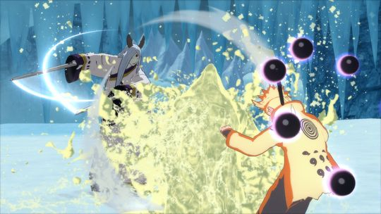 Naruto har ein litt dårleg dag.