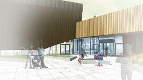 Svømmehallen blir et forbildeprosjekt i FutureBuilt-programmet for klimavennlige byområder og bygg.