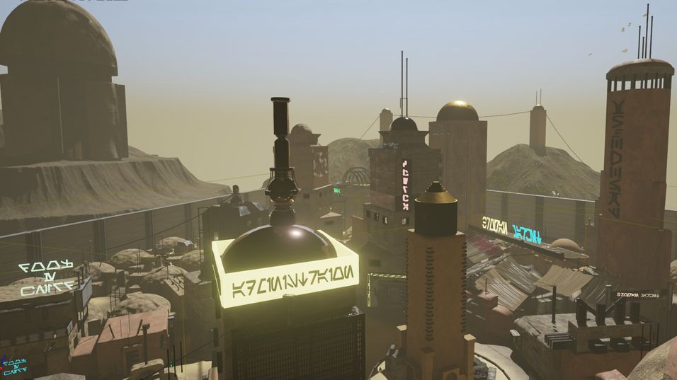 Tatooine pusses opp i Knights of the Old Republic: Apeiron.