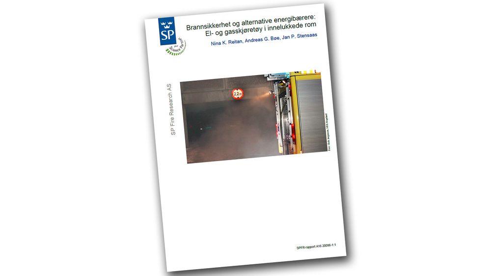 SP Fire Research har laget en rapport  om parkering av el-og gassbiler i parkeringskjellere på oppdrag fra Difi.