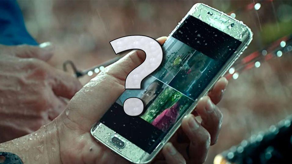 Videoen alle tolket som et bevis på at Galaxy S7 blir vanntett er bare ment som «en demonstrasjon», ifølge Samsung.