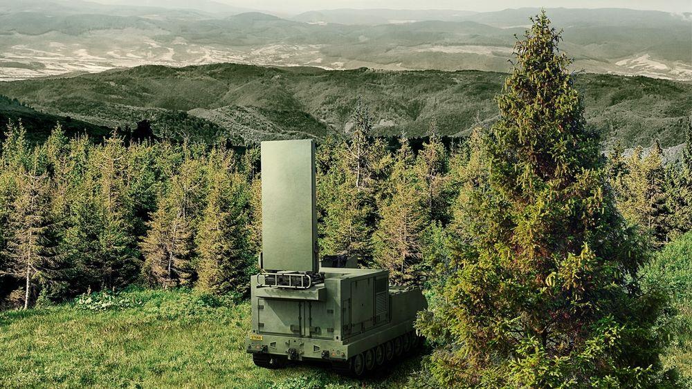 Slik så Saab for seg at den nye generasjonen Arthur for den norske hæren skulle framstå.