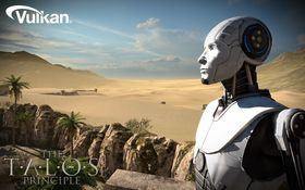 Spillet The Talos Principle har allerede kommet i en Vulkan-versjon.