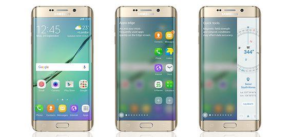 Slik presenterer Samsung den nye Android 6.0-oppdateringen for Galaxy S6-modellene.