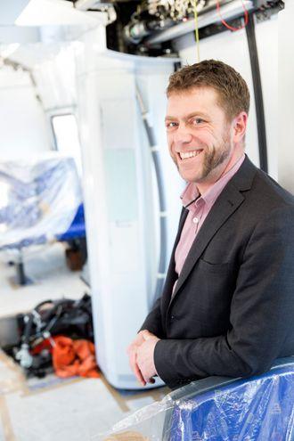 En revolusjon: ERTMS-ekspert i Alstom, Carl Fredrik Åhlander, tror det nye signalsystemet vil bidra til å løfte jernbanen i de nordiske landene.