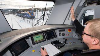 Erfaren: lokfører i Stockholms Lokaltrafikk, Lasse Ericsson har skaffet seg mye erfaring med ERTMS nivå 2 og er svært begeistret for sikkerheten og påliteligheten til det nye signalsystemet.
