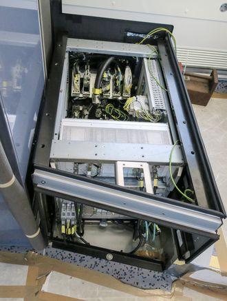 ERTMS Elektronikk: All elektronikken er skjult i toget og noen av systemene finner vi under passasjerseter.