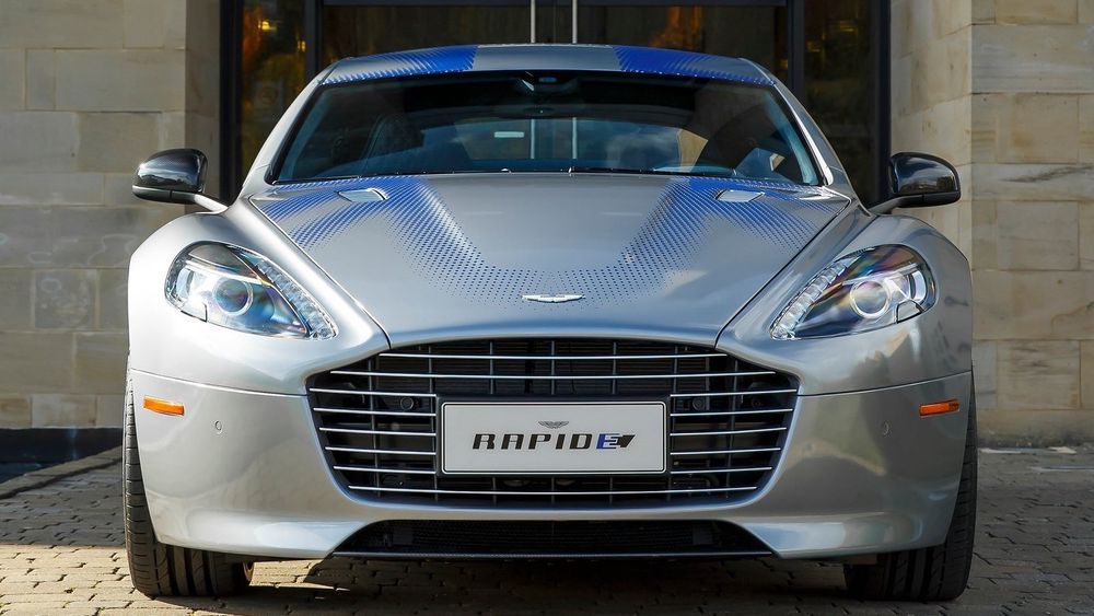 RapidE blir Aston Martins første elbil. Som navnet tilsier, er den basert på Rapide S.