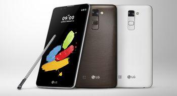 LG slipper ny kjempetelefon med skjermpenn