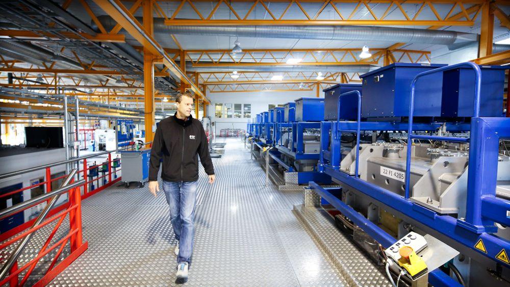 Nye arbeidsplasser: Elkem Solar har tatt endelig beslutning om å starte opp produksjon av solcelle-silisium i RECs gamle lokaler på Herøya.
