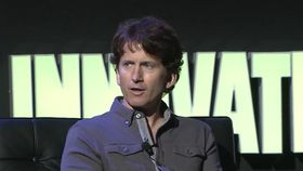 Todd Howard under årets D.I.C.E.-samling.