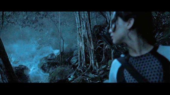 Dødelig: Den giftige tåken som jager deltagerne i The Hunger Games gjennom skogen, er laget av Anette Gjertsen.