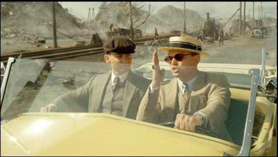 Røyk og ild: I filmen The Great Gatsby med Leonardi di Caprio laget Anette Gjertsen ild og røyk i et i utgangspunktet rent miljø.