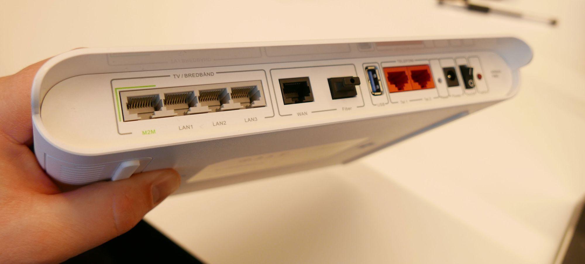 sjekke tilgang til fiber