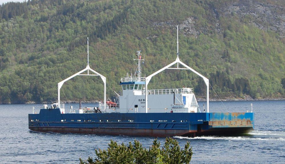 MF «Ole Bull» kan bli landets første ferge på hydrogendrift.