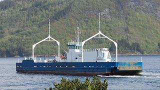 Dette kan bli Norges første bilferge på hydrogen